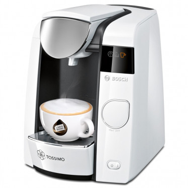 Machine Tassimo Joy Blanc et Chrome : Bosch TAS4504