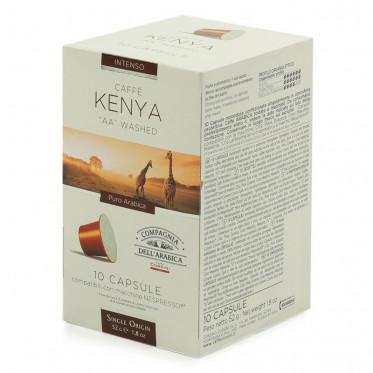 Capsule Nespresso Compatible Cie Dell'Arabica Kenya - 10 capsules