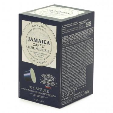 Capsule Nespresso Compatible Cie Dell'Arabica Jamaica Blue Mountain - 10 capsules