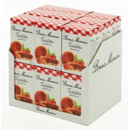 Biscuit en gros Bonne Maman : Tartelettes Framboise - 18 boites - 54 pièces