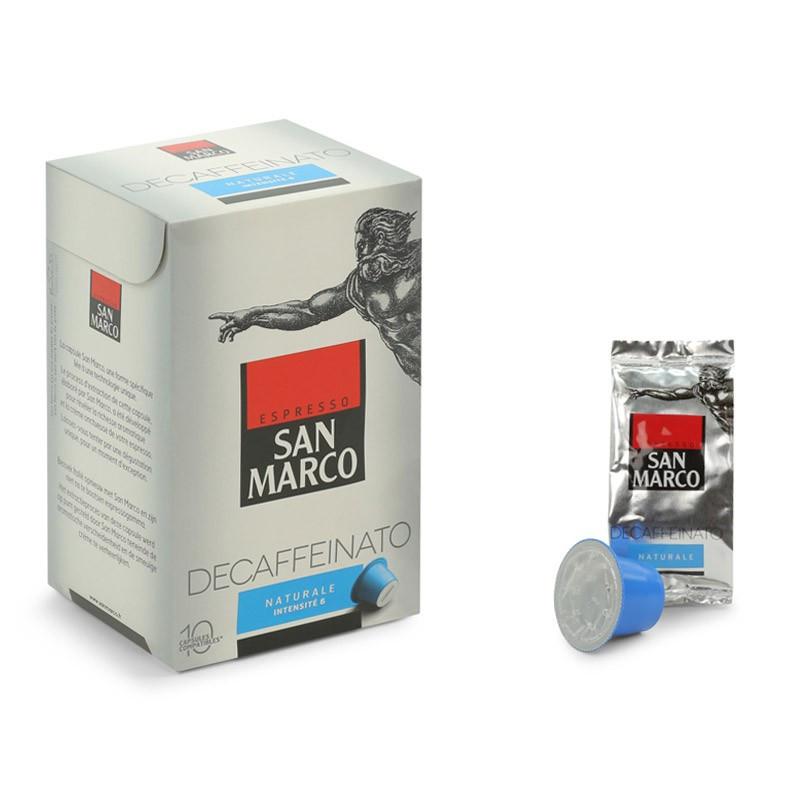 capsule nespresso compatible san marco deca naturale 6. Black Bedroom Furniture Sets. Home Design Ideas