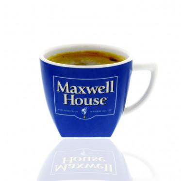 Tasse Maxwell House Bleue
