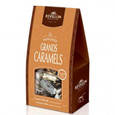Pochette de Papillotes Révillon : Grands Caramels au Lait - 240 gr