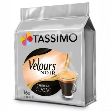 Capsules Tassimo Velours Noir Café Long Classic - 16 T-discs