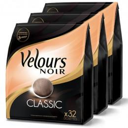 Dosette Souple Velours Noir Classique 3 paquets - 108 pads