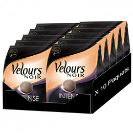 Dosette Souple Velours Noir Intense  5 paquets- 160 pads