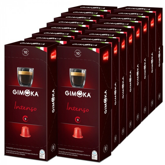 capsule nespresso compatible gimoka intenso 20 boites 200 capsule. Black Bedroom Furniture Sets. Home Design Ideas