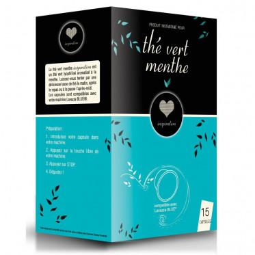 Capsule Lavazza Blue Compatible Inspiration Thé Vert Menthe - 15 capsules