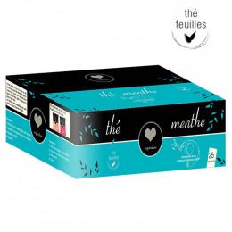 Capsule Lavazza Espresso Point Compatible Inspiration Thé Menthe - 25 capsules