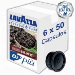 Capsule Lavazza Espresso Point Thé English Breakfast - 6 boîtes - 300 capsules