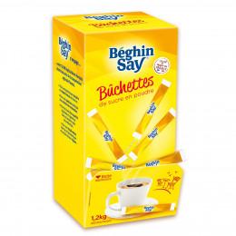 Bûchettes de sucre blanc Béghin-Say - 300 buchettes - 1,2 kg