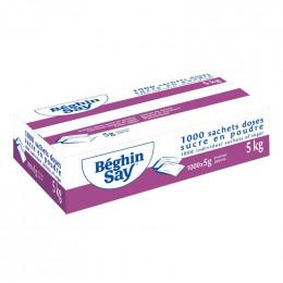Sachets-Doses de Sucre Béghin-Say - 5 kg - 1000 rations