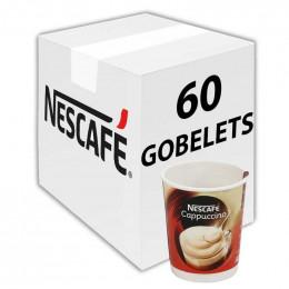 Café Gobelet Pré-Dosé Premium au carton Nescafé Cappuccino - 150 boissons