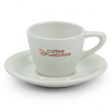 tasse coffee webstore porcelaine espresso 8 cl 6 tasses et sous tasses coffee webstore. Black Bedroom Furniture Sets. Home Design Ideas