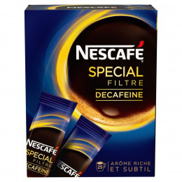 Café Soluble Nescafé Sélection - 25 sticks de 2 gr