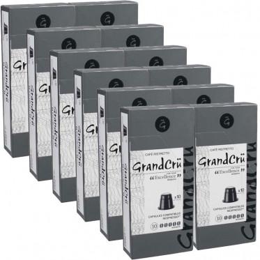 Capsules Nespresso Compatibles Grand Cru Excellence - 12 paquets - 120 capsules