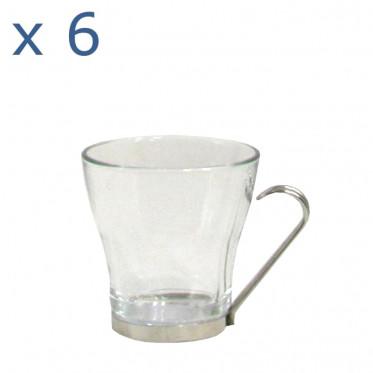 Tasse Bormioli Rocco : Oslo Espresso 10 cl - par 6