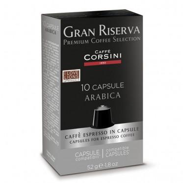 capsule nespresso compatible caff corsini gran riserva. Black Bedroom Furniture Sets. Home Design Ideas
