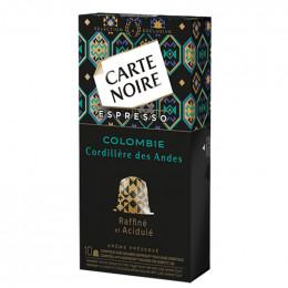 Capsule Nespresso Compatible Carte Noire Cordillere Des Andes Colombie - 10 Capsules