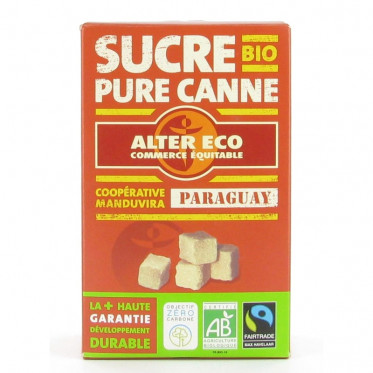 Sucre Pure Canne Paraguay Alter Eco - 500 gr
