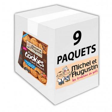 Petits carrés pas tout à fait carrés aux éclats de nougatine et chocolat au lait 73g