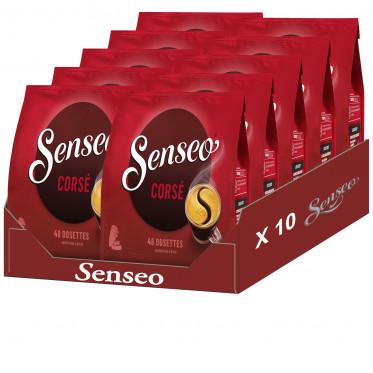 Dosette Senseo Corsé 10 paquets - 480 dosettes