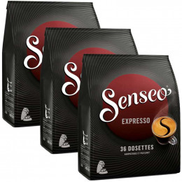 Dosette Senseo Expresso 3 paquets - 108 dosettes