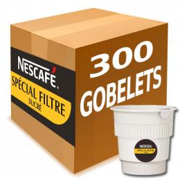 Gobelet Pré-dosé Café Nescafé Special Filtre Sucré - Carton 300 boissons