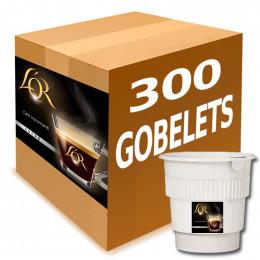 Gobelet Pré-dosé Café L'Or Sucré - Carton 300 boissons