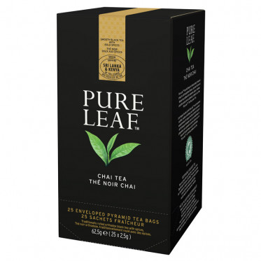 Thé Noir Chai Pure Leaf - 25 pyramides