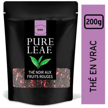 Thé Noir aux Fruits Rouges Pure Leaf - En Vrac - Poche 200 gr