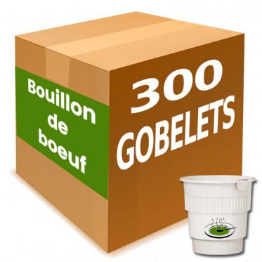 Gobelet Pré-dosé Potage Bouillon de Boeuf - Carton 300 boissons