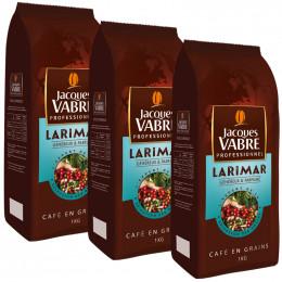 Café en Grains Jacques Vabre Larimar - 3 Kg - 3 paquets