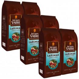 Café en Grains Jacques Vabre Larimar - 6 Kg - 6 paquets