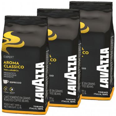 Café en Grains Lavazza Expert Aroma Classico - 3 Kg