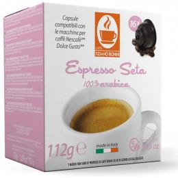 Capsule Dolce Gusto Compatible Café Espresso Seta - 10 capsules - Caffè Bonini