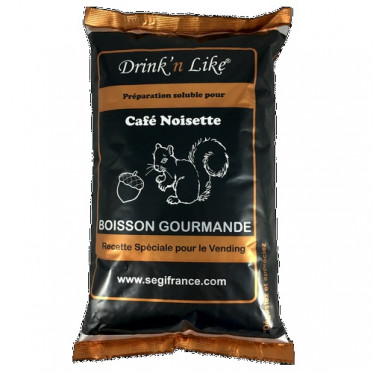 Cafe gourmand pour distributeur automatique Drink'n Like Café Noisette Extra