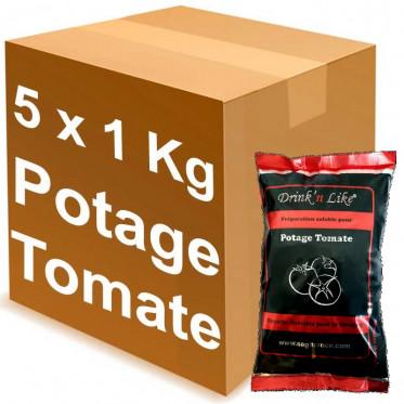 Potage pour distributeur automatique Drink'n Like Soupe tomate 5 Kg