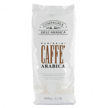 Café en Grains Compagnia Dell'Arabica Purissimi - 1 Kg