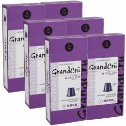 Capsules Nespresso Compatibles Grand Cru Oh La La - 6 paquets - 60 capsules