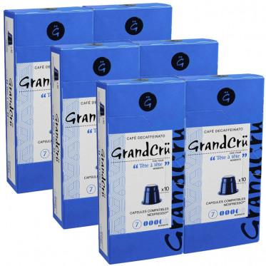 Capsules Nespresso Compatibles Grand Cru Tete-a-Tete - 6 paquets - 60 capsules