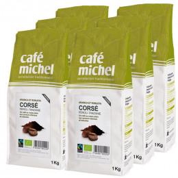Café en Grains Mélange Corsé - Café Michel - 6 kg