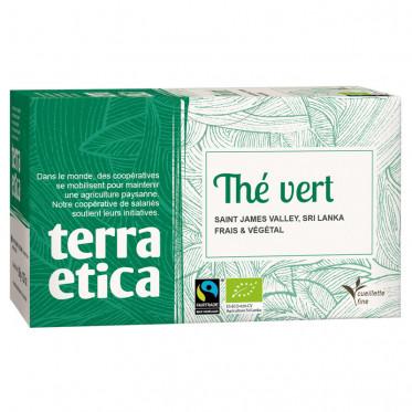 Thé Vert - Origine Sri Lanka - Terra Ética - 20 sachets