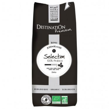 Café en Grains Bio Selection - Destination Grand Comptoir - 1 kg