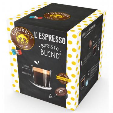 Capsule Dolce Gusto Compatible Café Espresso Barista Blend - Columbus Café - 16 capsules