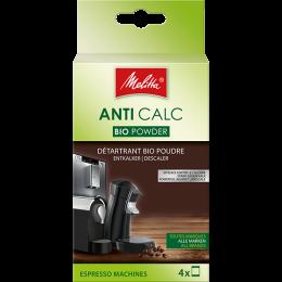 Produit détartrant Ecologique Melitta : Sachets pour machine espresso - 4 sachets
