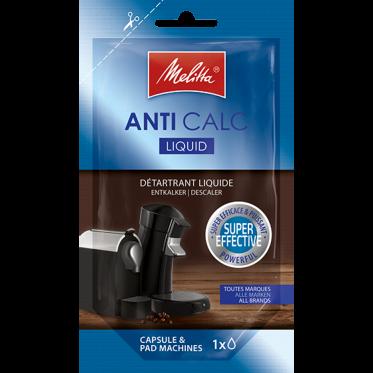 Produit détartrant Melitta : Liquide pour machine capsule dosette - 100 ml