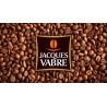 Tasse porcelaine Jacques Vabre : Espresso 8 cl - 6 tasses et sous-tasses