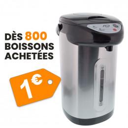 Pack Pro 800 Gobelets Pré-dosés + Thermos Pro à 1€
