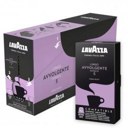 Capsule Nespresso Compatible Lavazza café Avvolgente - 10 capsules